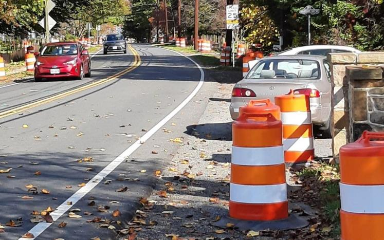 Preliminary work begins on E. Loudoun Street